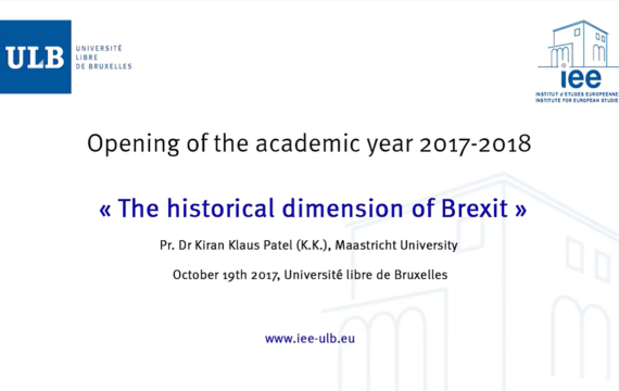 Brexit historical dimension - Kiran Patel