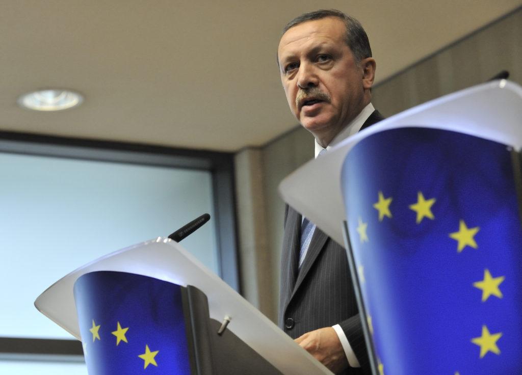 Recep Tayyip Erdogan at the EC EU-Turkey relations