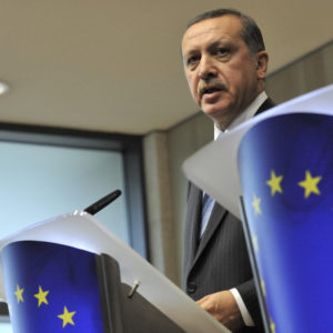 Recep Tayyip Erdogan at the EC EU-Turkey relations