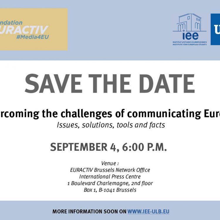 defis communication europeenne
