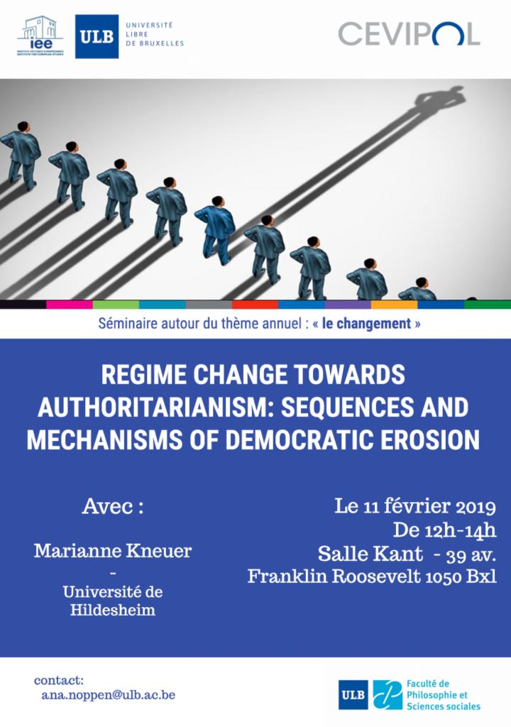 Changement de régime vers l'autoritarisme