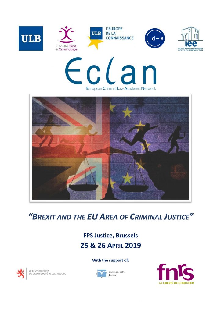 Brexit and the EU Area of Criminal Justice
