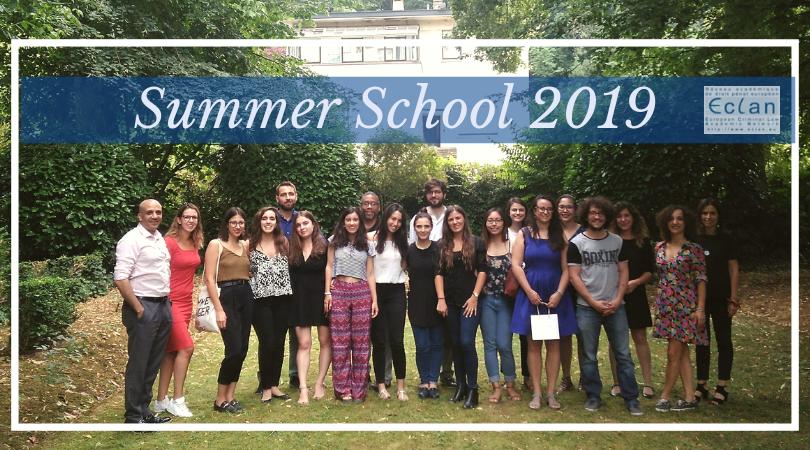 ECLAN Summer School