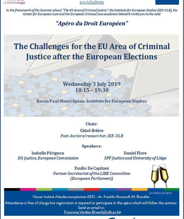 l'espace européen de justice pénale
