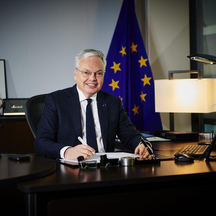 Didier Reynders, Commissaire européen