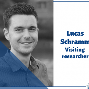 visiting researcher Lucas Schramm