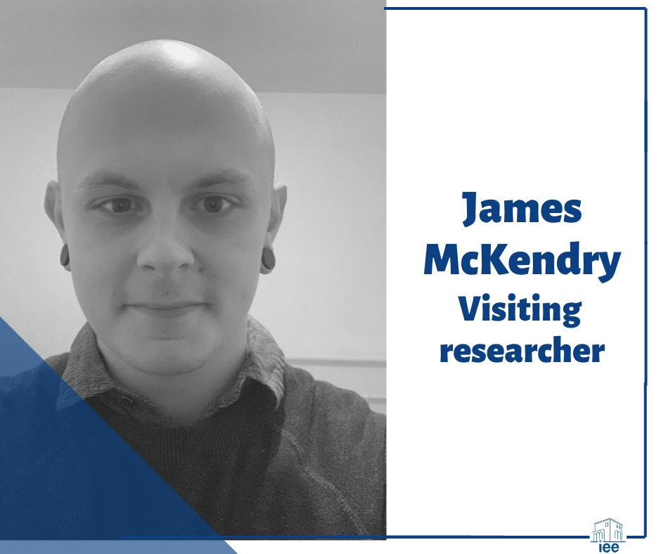 visiting researcher James McKendry