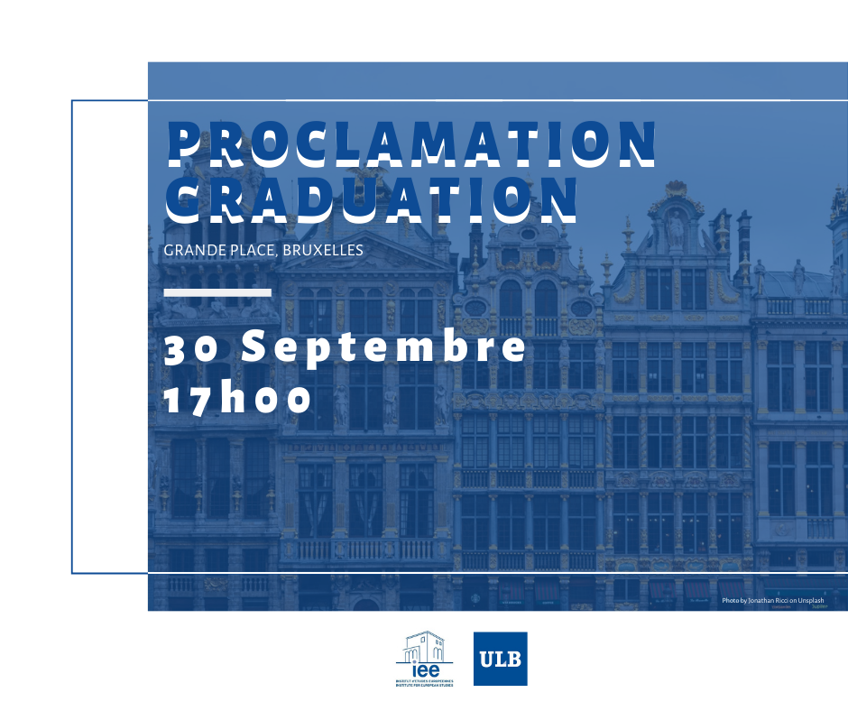 graduation ceremony Grande Place