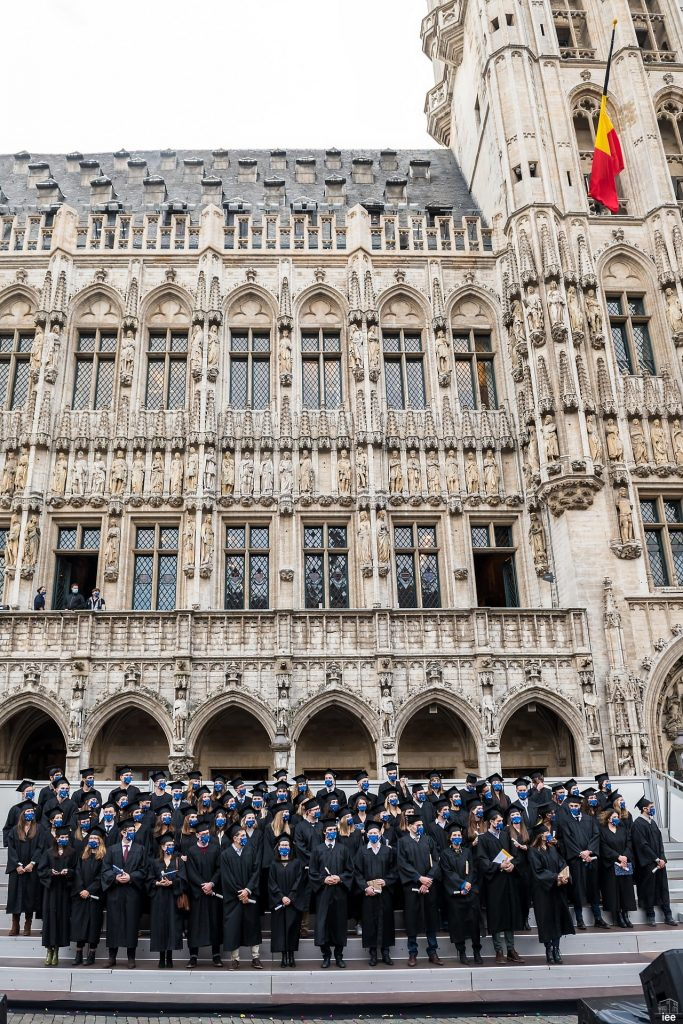 Graduation at the Grande-Place